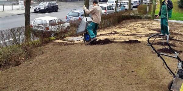 Sand un Mutterboden